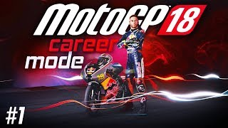 MotoGP 18 Career Mode Part 1: Redbull Rookie Cup