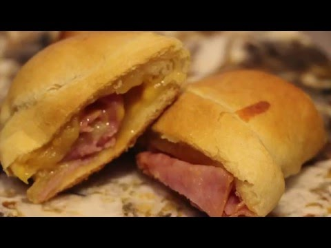 CRESCENT ROLL UPS/ PERFECT HAM AND CHEESE CRESCENT ROLL UPS RECIPE/CHERYLS HOME COOKING/EPISODE 388
