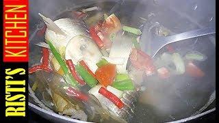 hhaaiiiii~~~ upload lagi yaaa~~ selamat menonton! bahan : 3 ekor ikan bandeng bumbu : 5 siung bw merah 5 siung bw putih 4 buah cabe merah keriting ...
