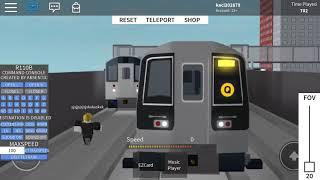 R110B snd R110A cuerno batalla 2 puestos humanos en el roblox carril subterráneo