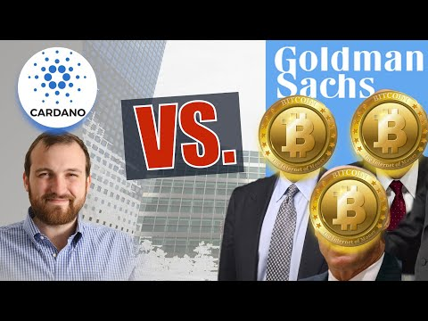 """Hoskinson: """"Cardano Will Be The BEST Crypto THIS YEAR!"""" GoldMan Sachs Exec says BITCOIN up 50-100X."""
