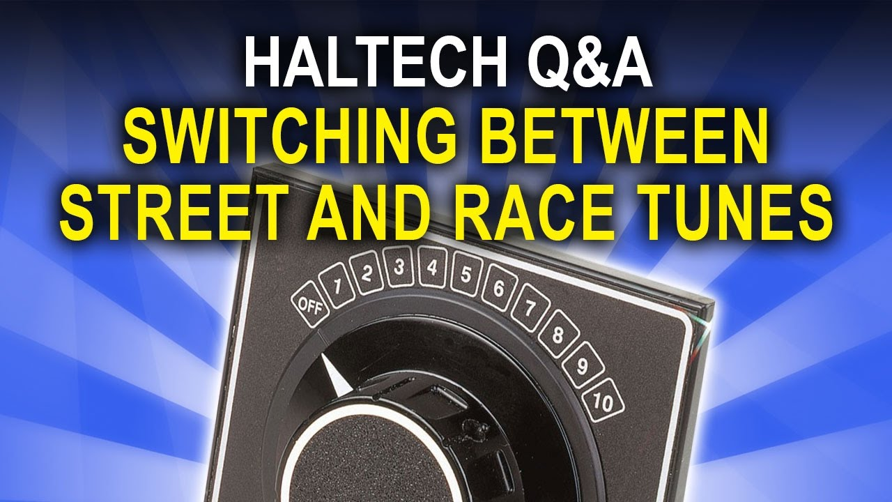Switching Between Street and Race Tunes - Haltech Q&A Episode 16