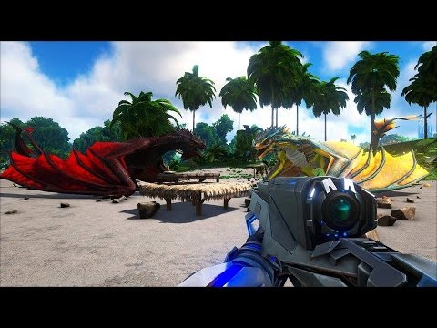 ARK: Scorched Earth - Mẹ Rồng Game Offline đã quay trở lại =)) - YouTube