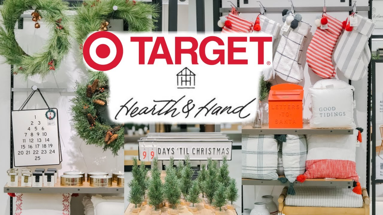 Target Christmas Shop with Me 2020 | Hearth and Hand Christmas 2020 | Christmas Decor 2020
