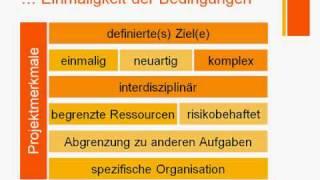 Projektmanagement - das Projekt
