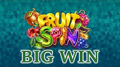 Fruit Spin online slot by Netent Big win