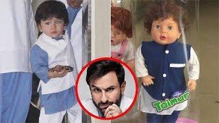 Taimur Ali Khan's Doll Goes Viral   Saif Ali Khan Reacts