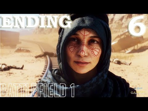 Battlefield 1 - Nothing is Written - Gameplay Walkthrough Part 6 No Commentary Ending Finale