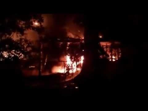 Fire next door-  9/11/11 (3am)