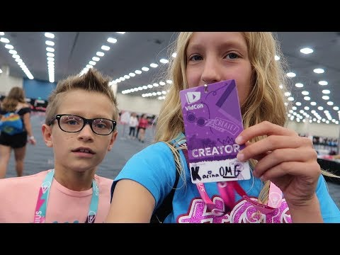 MEETING YOUTUBERS!!! WHAT REALLY HAPPENED AT VIDCON!!!