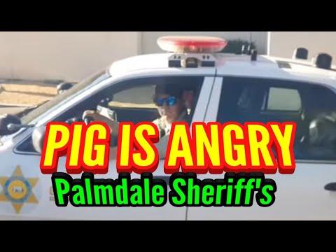 Sheriff's Almost Kill A Man..Palmdale Sheriff's