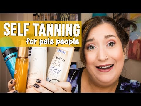 SELF TANNING FOR PALE PEOPLE | Testing St Tropez, Ulta, L'Oreal Sublime Bronze, & More!