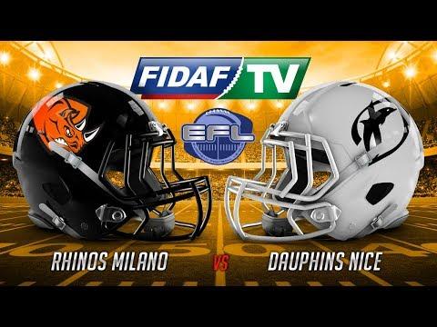 Rhinos Milano vs Dauphins Nice
