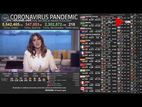 صباح الخير يامصر - شاهد عدد إصابات ووفيات فيروس كورونا حول العالم  - نشر قبل 11 ساعة