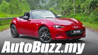 2015 Mazda MX-5 Miata 2.0L SkyActiv review - AutoBuzz.my