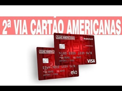 Cartao De Credito Lojas Americanas Consulta 2 Via Fatura Youtube
