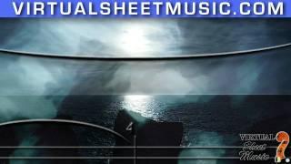 Moonlight Sonata (Adagio) for piano solo by Beethoven (fantasy video)