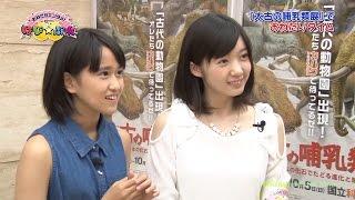 おねだりエンタメ!~ はぴ☆ぷれ」2014年8月9日放送より 「太古の動物園...