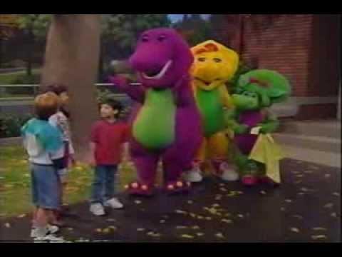 Barney Song Just Imagine Youtube