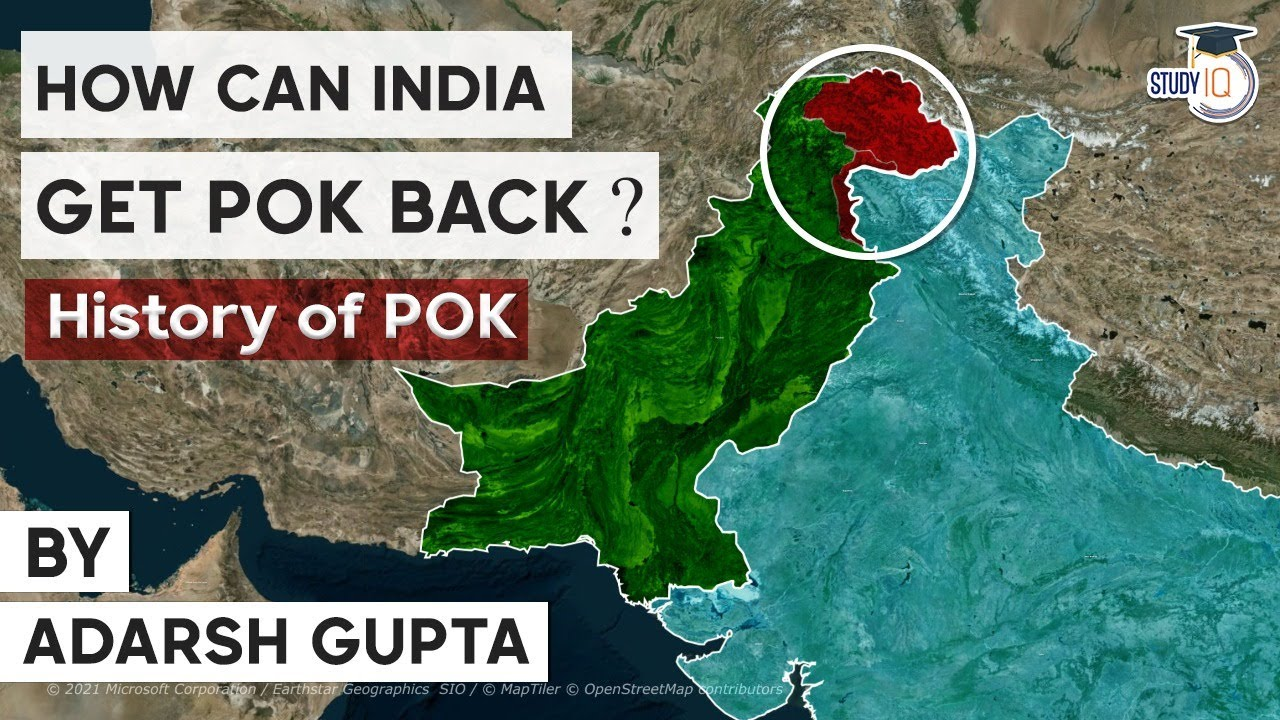 Download Can India annex Pakistan Occupied Kashmir ( POK )? History and Geography of Kashmir