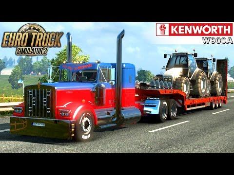 Euro Truck Simulator 2 KENWORTH W900A CUSTOM