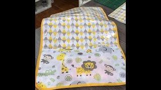 Como fazer um trocador de bebê com bolso – 1a parte