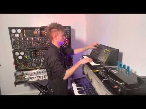 INSTRUMENTAL analog synths jam on RIDE - Look Mum No Computer