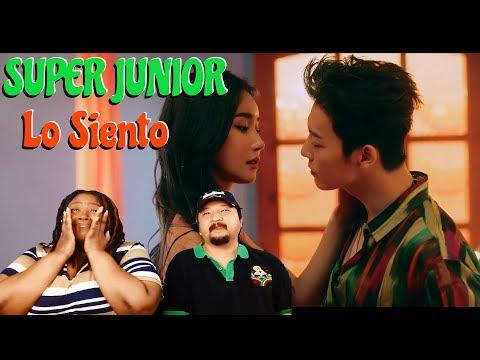 Super Junior feat Leslie Grace Los Siento MV   Couple Reaction