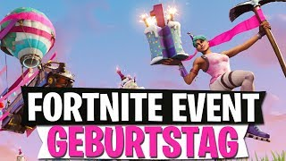 BIRTHDAY EVENT | SKINS & CHALLENGES COMING | Fortnite Battle Royale