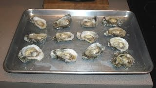 How To Shuck & Bake Oysters