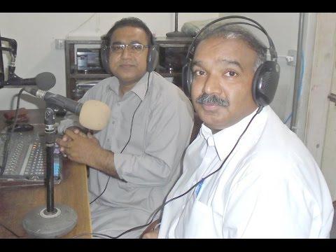 Mehran Dhamraho, Renowned Poet Of Sindh @ Hot FM 105 Larkana.