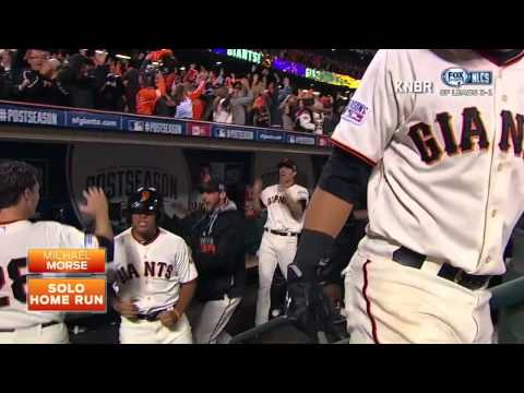 Michael Morse 2014 NLCS GAME 5 HOMERUN KNBR VIDEO