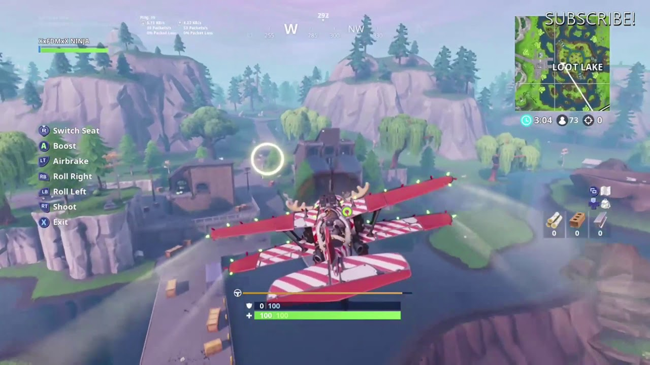 All Locations For The 5th 14 Days Of Fortnite Fly Through Golden