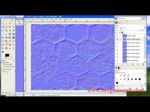 how to create normal map in photoshop