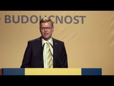 Sjezd KDU-ČSL 2017 - Kandidátský projev Pavla Bělobrádka