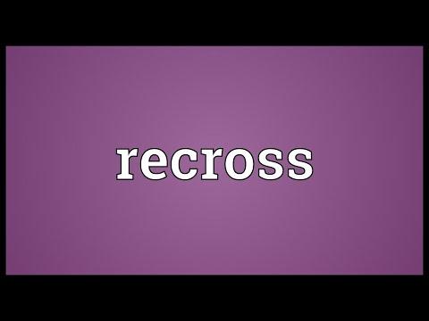 Header of recross