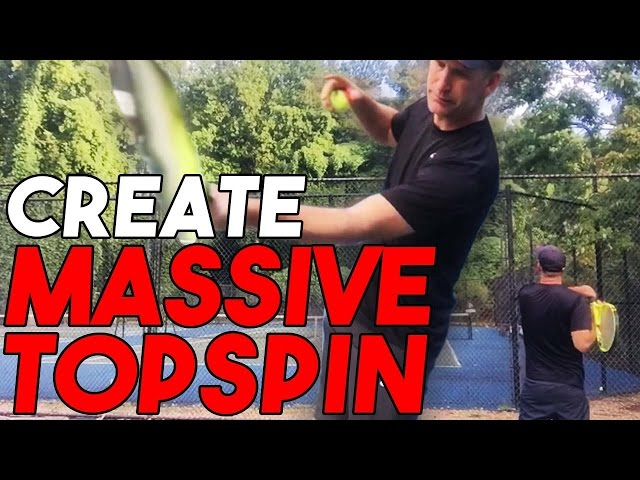 Topspin Forehand Lesson: Easy Drill to Create Massive Topspin