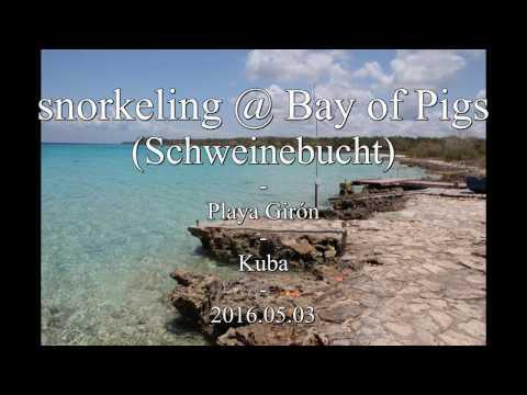 snorkeling @ Bay Of Pigs (Schweinebucht) - Playa Girón - Kuba - 2016.05.03
