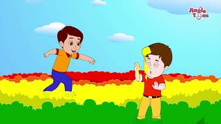 इन्द्रधनुष Fun on Rainbow | Hindi Children Song & Rhymes by Jingle Toons