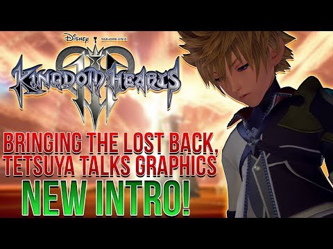 Kingdom Hearts 3 - Bringing Back the Lost, Graphics Style, NEW INTRO!