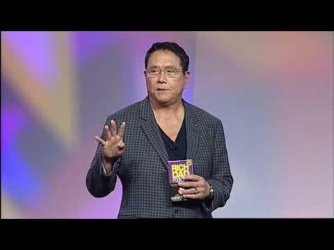 Robert Kiyosaki Rich Dad's Author  addresses 5LINX  2014 Convention in Miami Beach, FL