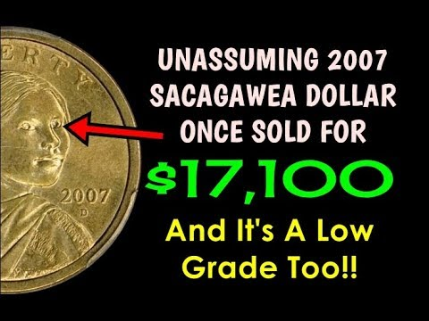 2007 Sacagawea Dollar Discovered In Change Sold For $17,100! - Does Another Exist?