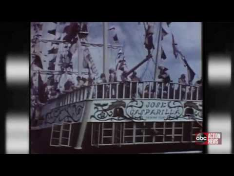 Nick Wize - What Gasparilla Looked Like In The 1950's