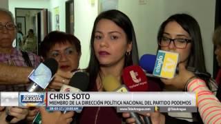 Chris Soto destacó  la labor de las mujeres en la construcción de la Revolución