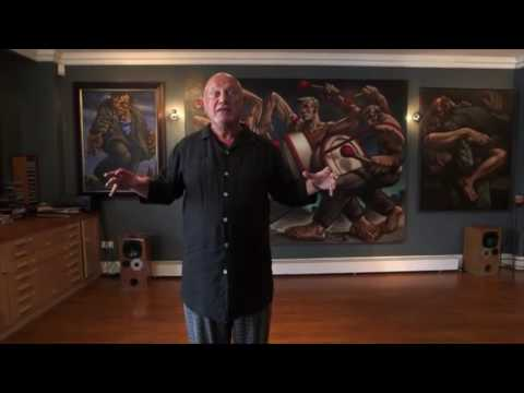 Steven Berkoff on the art of Peter Howson // HiBrow Teaser