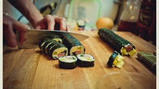 "How To Make Gimbap - Korean ""sushi"" Rolls Recipe"