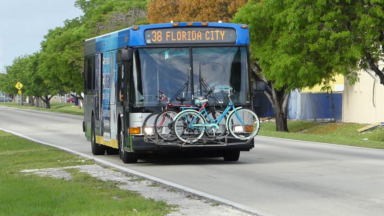 miami-dade transit metrobus: 2006 nabi 40-lfw route 38 max bus #6112