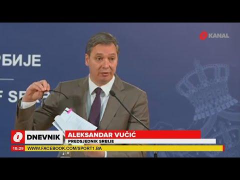 Sastanak U Beogradu: Dodik Tražio Poštivanje Ustava BiH, A Vučić Mahao Dejtonskim Sporazumom