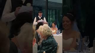 Bond & Bradders Wedding - Bondy's groom speech.