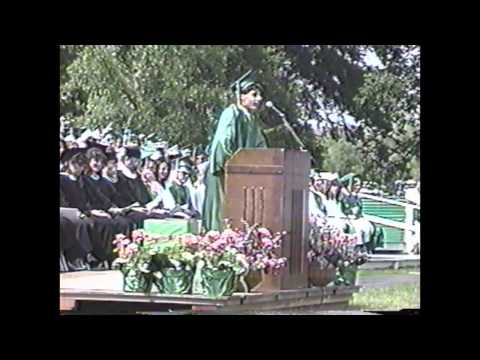 1989 Yorktown High School Graduation, Yorktown Heights, NY